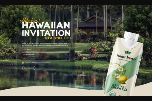 Saint James Brands – Hawaiian Retreat Giveaway – Win one of the following Three-night retreat at the Sensai Lanai Four Seasons Resort –($3250) Plane Tickets from HomeDestination – (Not to exceed $1000)