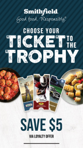 Smithfield Foods – Your Ticket To The Trophy – Win one 2-night/3-day trip for winner and one guest to their choice of one of the following events 1) 2022 College Football Playoff National Championship game