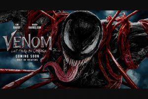 Sony Electronics – Sony Rewards Venom Let There Be Carnage Sweepstakes