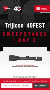 Trijicon – 40fest – Win corresponding to the list below