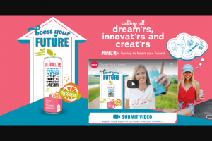 Wis-Pak Bubbl'r – Boost Your Future  – Win ARV of the Contest Grand Prize is $10000.