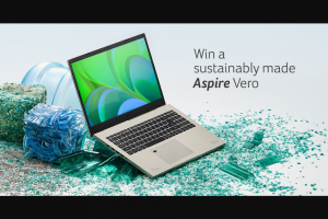Acer – Acer Aspire Vero Giveaway Sweepstakes