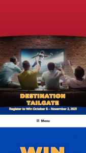 """Associated Wholesale Grocers – Destination Tailgate – Win The """"Grand Prize"""" consists of the following (i) one (1) $1000 Home Depot gift card (ii) one $2000 Best Buy gift card"""