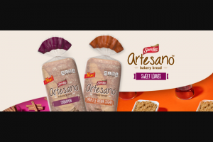 Bimbo Bakeries – Sara Lee Artesano Sweet Loaves Sweet Escapes – Win $5000 awarded in the form of a check