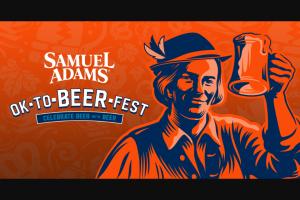 Boston Beer Company – Samuel Adams Octoberfest Off-Premise Sweepstakes