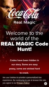Coca-Cola – Real Magic Instant Win Game & – Win ONE trip prize FIFA Trip Option 2022 FIFA WORLD CUP QATAR EXPERIENCE