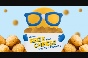 Culver's – Seize The Cheese Instant Win Game And Sweepstakes
