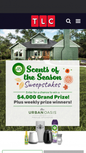 Discovery TLC – Scents Of The Season – Win shall win $4000 presented in the form of a check