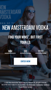 E & J Gallo Winery – New Amsterdam Vodka NHL Ond Sweepstakes