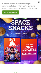 Farm Rich – Space Snacks Sweepstakes