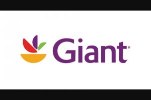 Giant – Flexible Rewards Sweepstakes