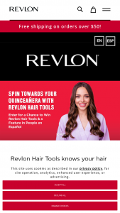 Helen Of Troy – Gira Hacia Tus Quince Con Revlon Hair Tools Contest – Win 1099 and are responsible for all taxes and fees associated with prize receipt and/or use