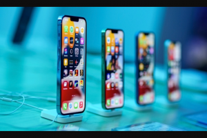 Idrop News – Iphone 13 Pro Max Giveaway – Win be one free unlocked 128GB iPhone 13 Pro Max an approximate retail value of $1099.