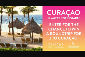 Iheart – Elvis Duran Show Curacao Tourist Board Flyaway – Win day/four night trip for Winner and one guest to Curacao