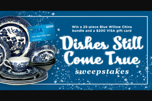 Insp – Dishes Still Come True Sweepstakes