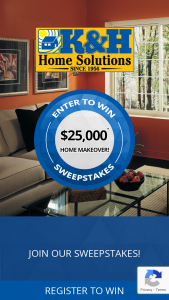 K&h Home Solutions – Home Makeover Sweepstakes