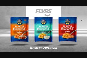 Kraft Heinz Foods – Kraft Flvrs Club – Win by Sponsor in its sole discretion
