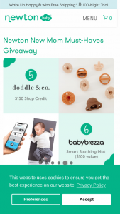 Newton Baby – New Mom Must-Haves Giveaway Sweepstakes