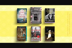 Penguin Random House – Fiona Davis Collection Sweepstakes