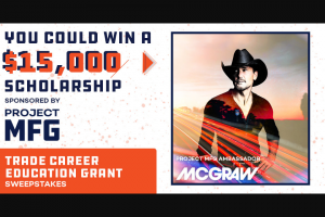 Premiere Networks – Trade Career Education Grant Sweepstakes