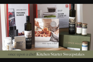 Random House – Once Upon A Chef Kitchen Starter Sweepstakes