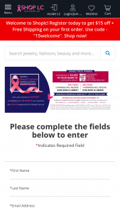 Shoplc – National Breast Cancer Awareness Month Sweepstakes