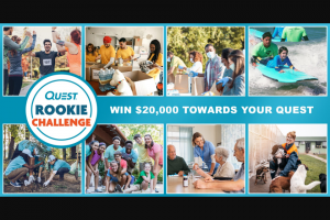 Simply Good Foods – Quest Rookie Challenge Sweepstakes