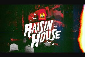 Sun-Maid – Raisin House Sweepstakes