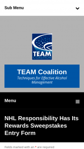 Team Coalition – NHL Responsibility Has Its Rewards – Win people to the 2023 NHL All-Star Game
