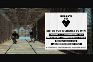 Tillys – The Heart Supply Sweepstakes