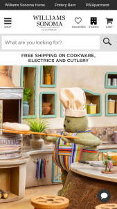 Williams Sonoma – Tiny Chef Show Must-Haves Sweepstakes
