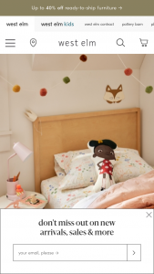 Williams-Sonoma – West ELM Kids X Netflix Ada Twist Scientist – Win a prize package that consists of a 12-month premium plan subscription to Netflix along with a product package